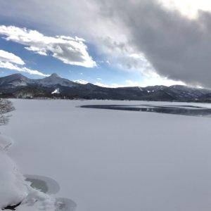 2021年 桧原湖の氷結状況 Part1