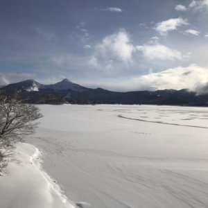 桧原湖釣果レポート、2021年1月上旬(1日~10日)