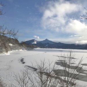 2021年 桧原湖の氷結状況 Part2